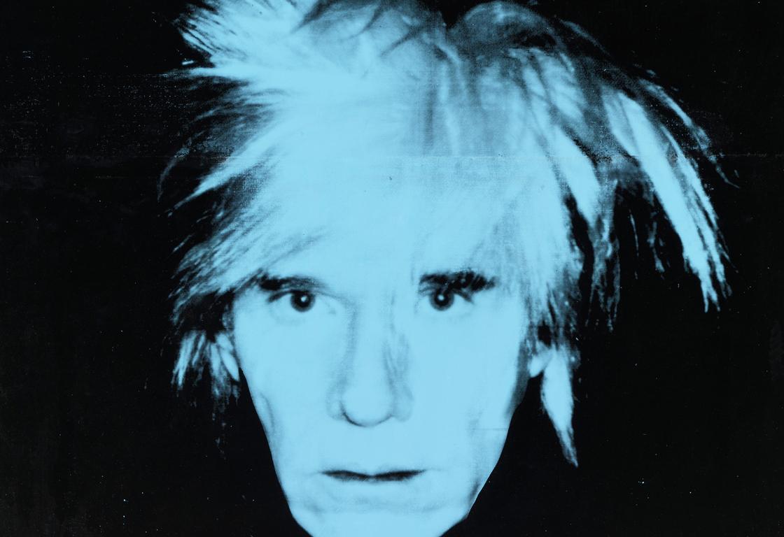 Andy Warhol: Self-Portrait, 1986. Udo und Anette Brandhorst Sammlung © 2019 The Andy Warhol Foundation for the Visual Arts, Inc. / Licensed by Artists Rights Society (ARS), New York. Foto: bpk / Bayerische Staatsgemäldesammlungen