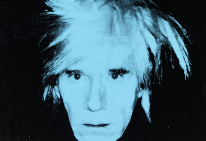 Andy Warhol: Self-Portrait, 1986. Udo und Anette Brandhorst Sammlung © 2019 The Andy Warhol Foundation for the Visual Arts, Inc. / Licensed by Artists Rights Society (ARS), New York. Foto: bpk / Bayerische Staatsgemäldesammlungen