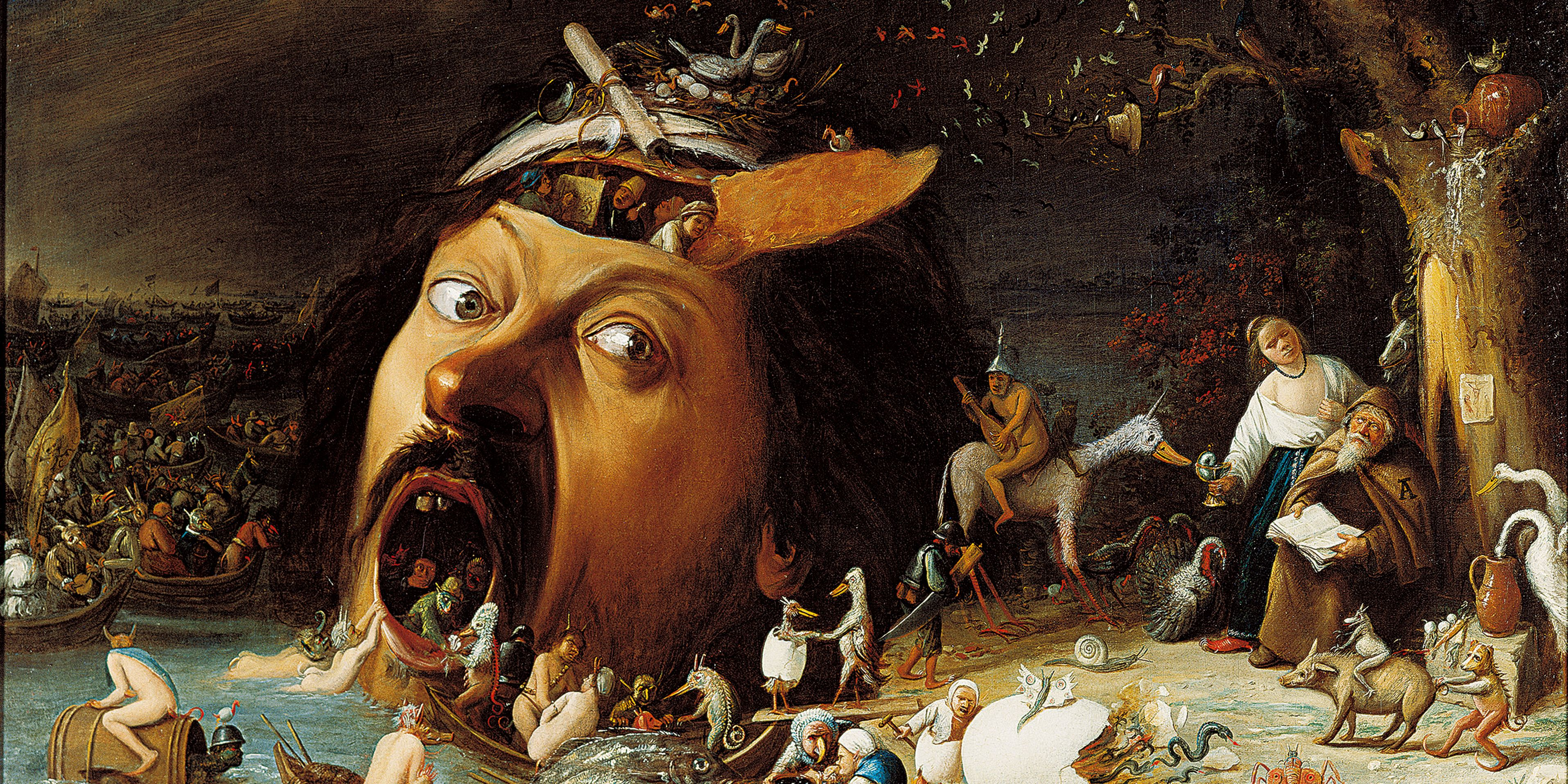 Terror and Desire The Temptation of St. Anthony from Hieronymus Bosch to  Max Ernst | Bucerius Kunst Forum